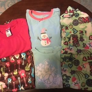 GIRLS SHIRTS & PJ's